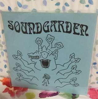 "Soundgarden - 7"" vinyl rare bootleg single"