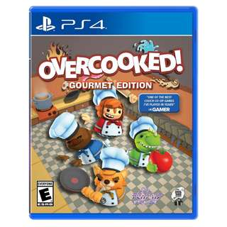 (Brand New Sealed) PS4 Game Overcooked Gourmet Edition