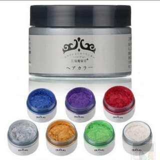 Japan Colour Hair Wax - READY STOCK