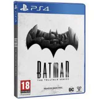 (Brand New Sealed) PS4 Game Batman Telltale Series