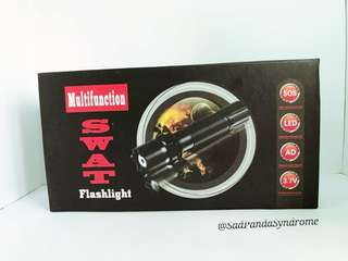 BN Multifunction Rechargeable Swat Flashlight