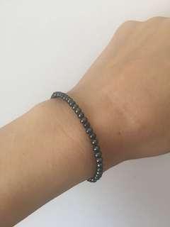 黑珍珠仔手鏈