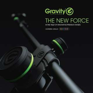 Gravity microphone stand