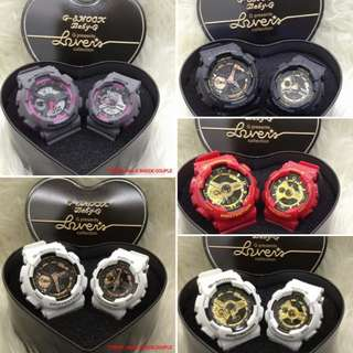 UPDATE 2/3/2018♥T0203B JAM G SHOCK COUPLE