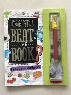 Activity Book: Can you beat the Book?
