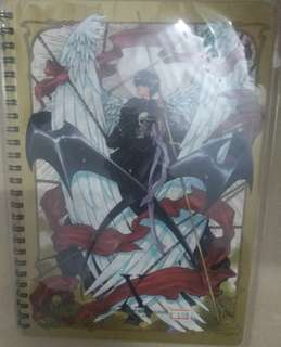 X Clamp note book 包郵