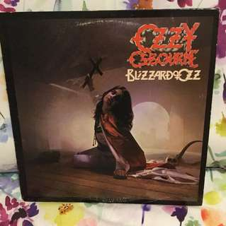 Ozzy Osbourne - blizzard of Oz lp vinyl