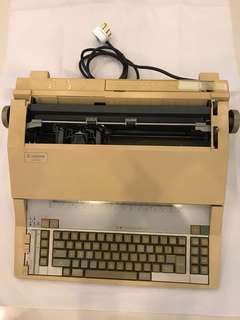 Antique Canon AP1000 Electric Typewriter for Sale.  Still in good working condition.