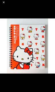 Hello kitty hard cover notebook
