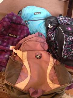 Backpacks for sale!!