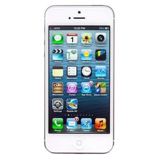 IPhone 5 - 16GB white/silver