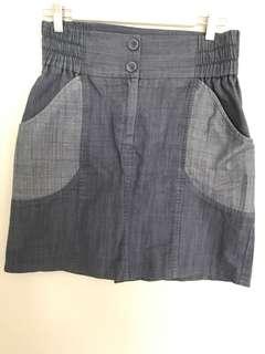Shona Joy Denim Skirt
