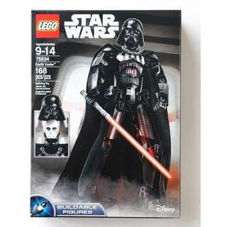 LEGO 75534 - STAR WARS - Buildable Battle Figures - Darth Vader (NEW)