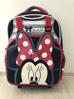 New Minnie House Kids school Bag
