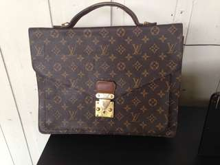 Briefcase attache case satchel Louis Vuitton