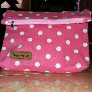 Sling bag motif Polkadot
