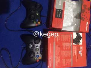 JUAL 2 stick xbox 360 with box
