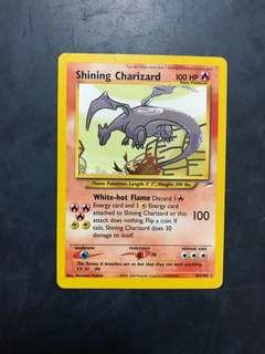 Shining Charizard 107/105 Holo Foil Rare Pokemon Card
