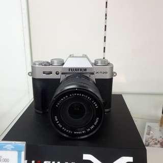 Kamera FujiFilm X-T20 Lens 16-50 (Kredit DP 0%)