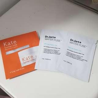 Dr. Jart & Kate Somerville samples