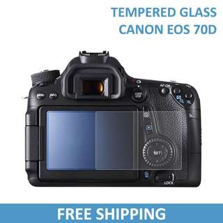 Canon 70D Tempered Glass Screen Protector DSLR