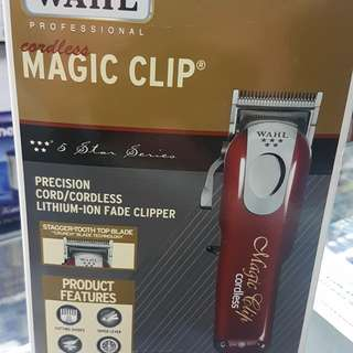 WAHL MAGIC CLIP CORDLESS CLIPPER