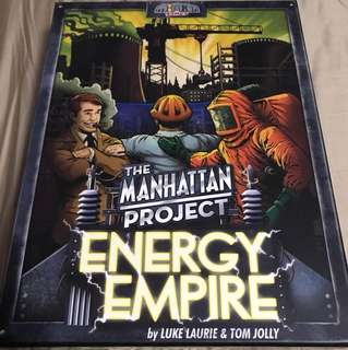 Manhattan Project Energy Empire Board Game