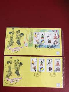 2 Singapore FDC as in Pictures