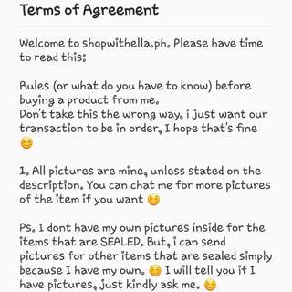 PLEASE READ! shopwithella.ph 💓