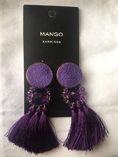 Mango Tassle Earrings