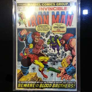 Iron Man #55, 1st Appearance of Thanos(6-6.5)