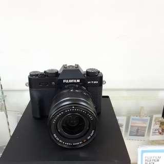 Kamera FujiFilm X-T20 Lens 18-55 (Kredit MURAH)