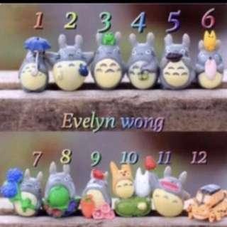 ☘️☘ Terrarium Accessories Totoro Hayao Miyazaki Series