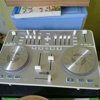 Vestax Spin Dj盤