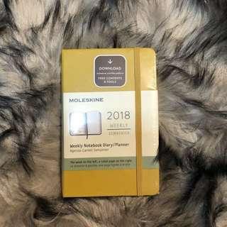 Moleskin 2018 Planner (Small/Pocket Size)