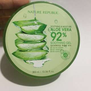 NATURE REPUBLIC SOOTHING GEL ALOE VERA 300ml Original Korea