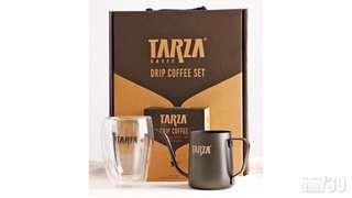 限量版TARZA 掛耳滴漏咖啡套裝 Drip Coffee Set