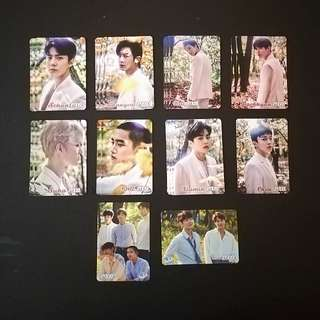 EXO 27期yes card
