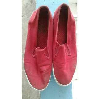 City Sneaks (red edition) shoes/sepatu