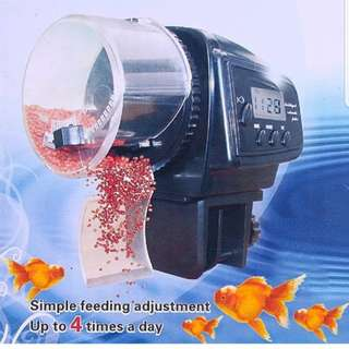 Digital Automatic Aquarium Fish Food Feeder