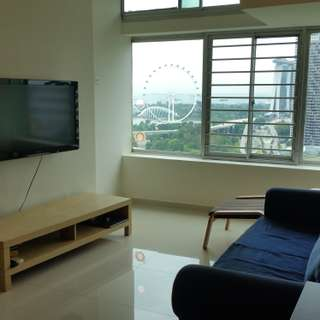2+1 THE PLAZA APT AT BEACH ROAD for rent, Panoramic Spore Flyer and Sea View. Pls Call 9459 8818