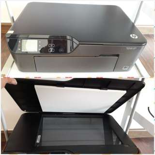 HP Deskjet 3520 Printer scan copy