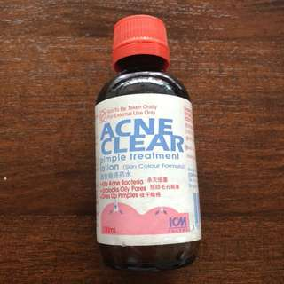 Acne Clear lotion
