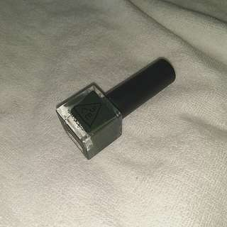 3CE army green nail polish