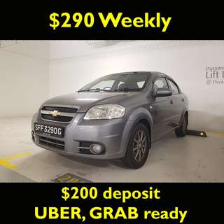 Chevrolet uber grab ready