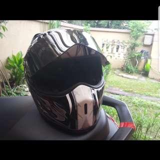 Bandit streetfighter fullface helmet