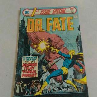 DC Dr Fate special comic