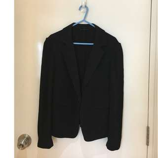 Giordano Ladies Black suit jacket