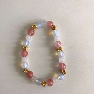 Crystal bracelet bought from Japan @90%new