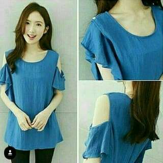 Blouse Sabrina blue